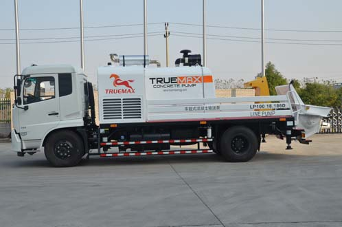 LP100.18.186D Truck Mounted Boom Pump-TRUMAX